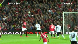 Video Gol Pertandingan Manchester United vs Valencia CF