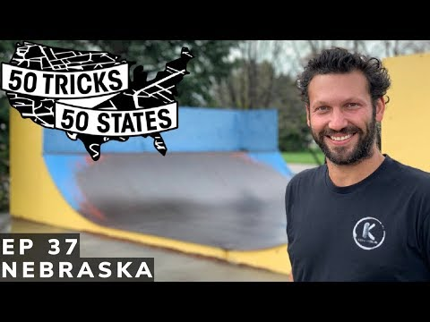 50 Tricks 50 States Skateboarding Challenge | Episode #37 | Nebraska