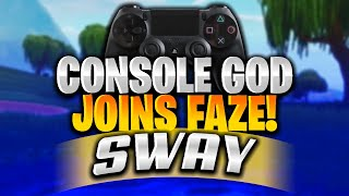 FaZe Just Signed The Most CRACKED Fortnite Controller Player!