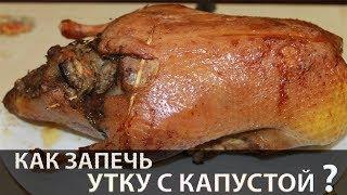 Утка | Утка с капустой | Как приготовить утку | Утка в духовке | Рецепт утки | Как запечь утку