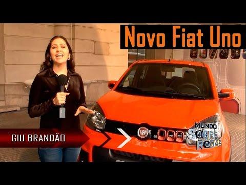 Novo Fiat Uno 2015