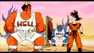 Goku's race with Mez