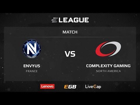 EnVyUs vs Complexity, map 1 dust2, ELEAGUE Season 1