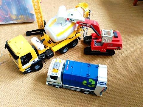 Juguetes 2 Toys Siku Hormigonera Bruder Camión Grúa Tractor Excavadora Bomberos Playmobil Policia