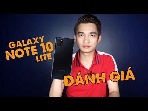 Samsung Galaxy Note 10 Lite - Hàng chính hãng, nó có đối thủ?