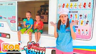 엄마의 아이스크림 트럭에 탄 블라드와 니키타
