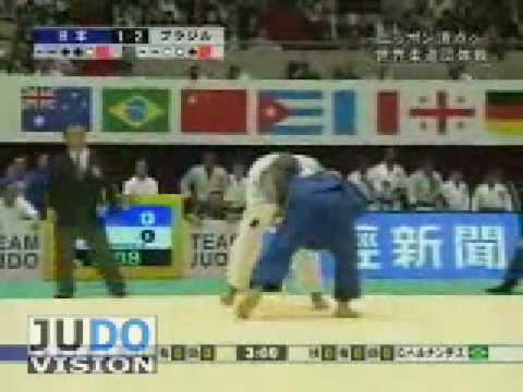 JUDO 2008 World Team Championships: Yasuyuki Muneta 棟田 康幸 (JPN) - Daniel Hernandes (BRA)