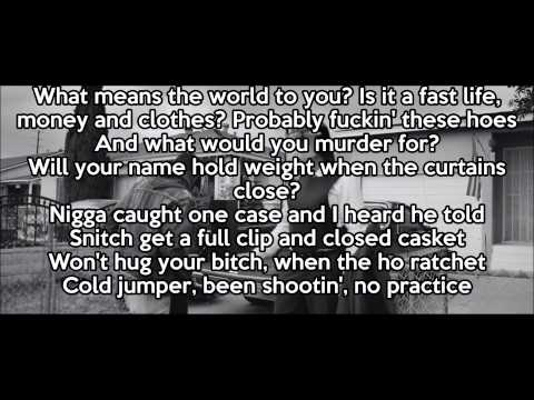 Vince Staples - Señorita Lyrics