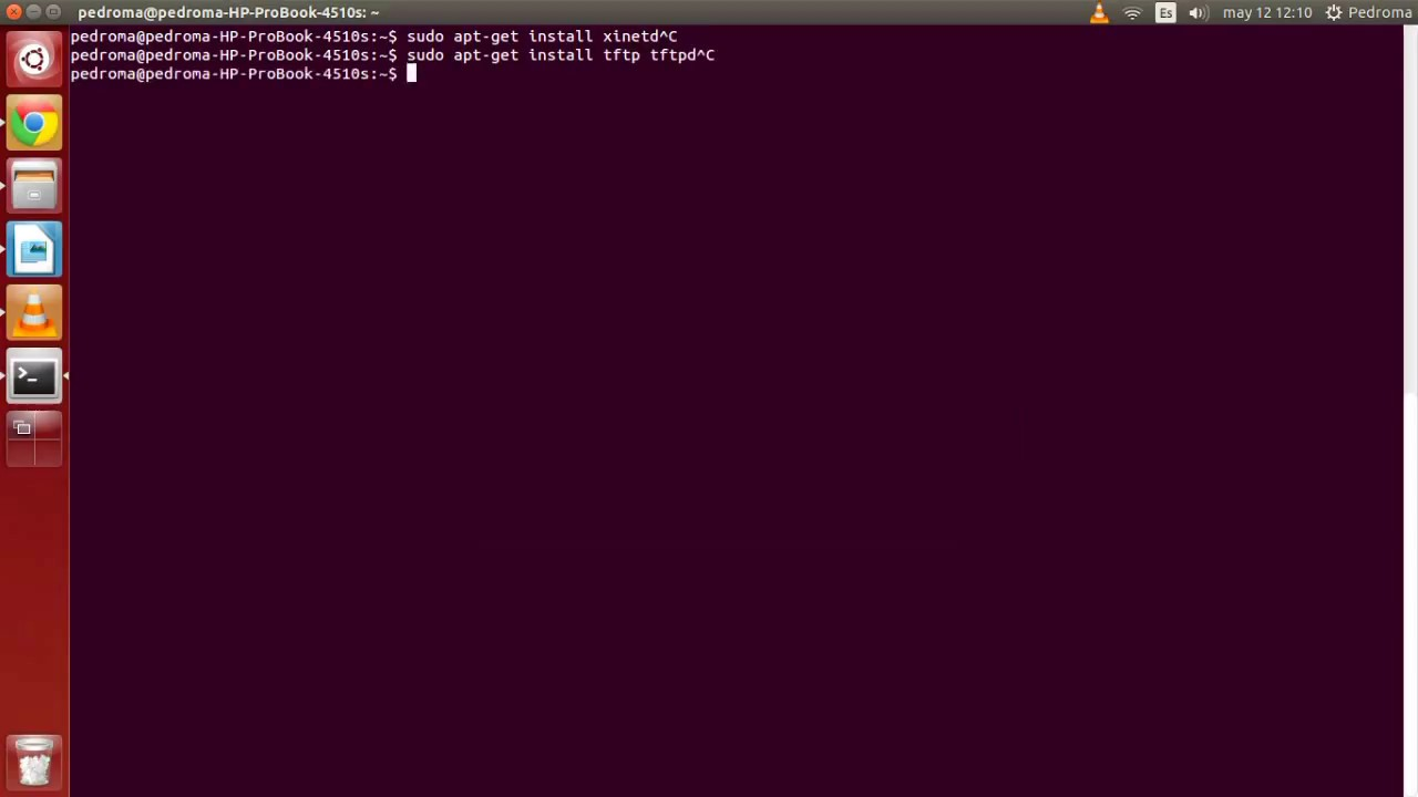 Instalation and configuration of a Linux TFTP server