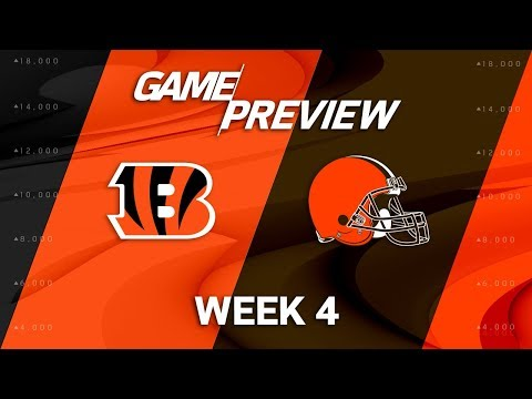 Cincinnati Bengals vs. Cleveland Browns | Week 4 Game Preview | NFL