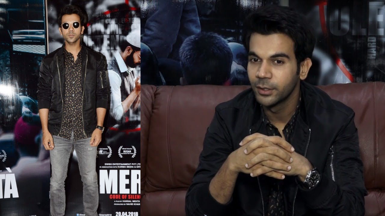 FULL INTERVIEW Of Rajkummar Rao For His Upcoming Movie Omerta