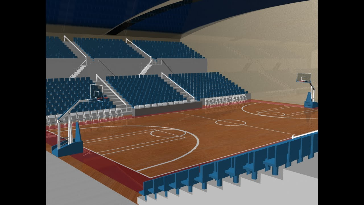 How to make a 3d basketball game on scratch timelapse for Making a basketball court