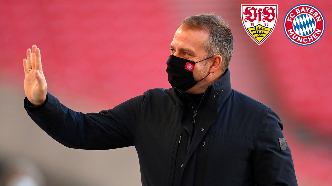 🎙️ 3 Verletzte und ein Debütant | Pressekonferenz mit Hansi Flick | VfB Stuttgart - FC Bayern