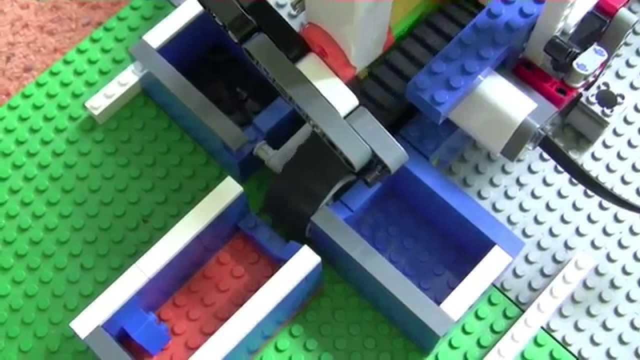 Lego Mindstorms Sortiermaschine 30 Youtube