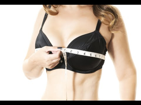 970d7cf6e3 How to Measure Bra Cup Size at Home - YouTube