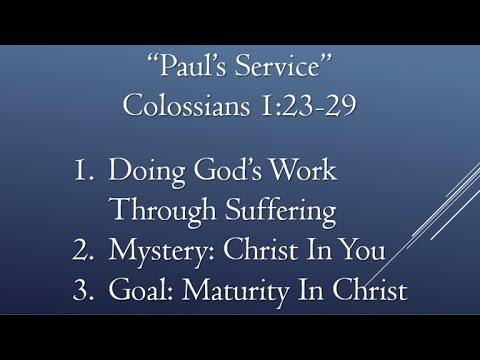"""""""Paul's Service"""""""