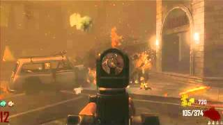 Black ops 2: Zombies hell hounds round!