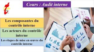 TOP'ETUDES | AUDIT INTERNE V4 : Contrôle Interne (Composantes,Acteurs,Processus)