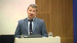 Professor Hannu Juusola (Univ. Helsinki): Stalemate at Middl