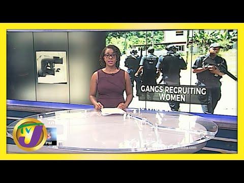 Jamaican Gangs Recruiting Women   Kings Valley Gang Members Charged   TVJ News
