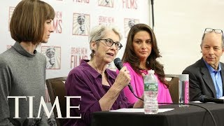 Panel Of Women Who Have Accused President Trump Of Misconduct Hold Press Conference | TIME thumbnail