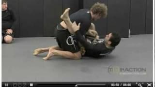 Marcelo Garcia rolling with Ben Askren