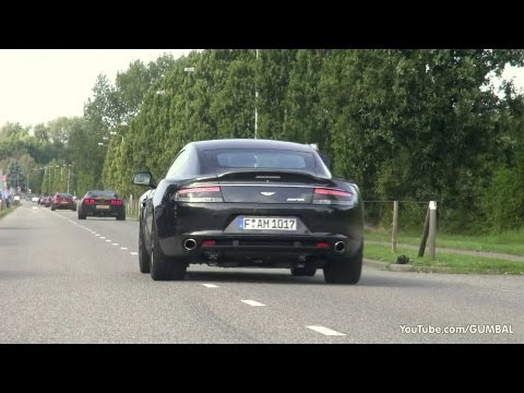 Aston Martin Rapide S - Start up & Acceleration Sounds!