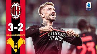 What a Comeback!   AC Milan 3-2 Hellas Verona   Highlights Serie A