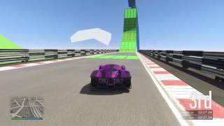 GTA Online Stunt race green machine 2:31.922 lap