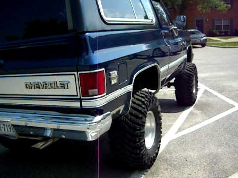 85 Chevy K5 Blazer Youtube