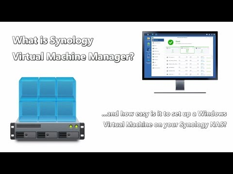 How to Create a Windows 7 Virtual Machine on your Synology NAS with Virtual Machine Manager