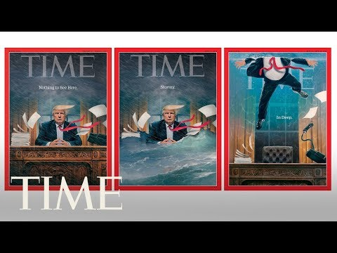 Donald Trump And The TIME Cover: An Animated History   TIME