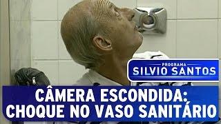 Câmera Escondida: Choque no Vaso Sanitário