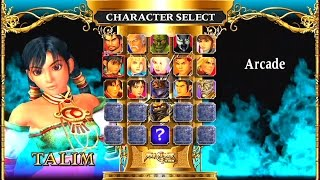 Soul Calibur II HD (PS3) -- Talim Arcade Mode -- Extremely Hard Playthrough