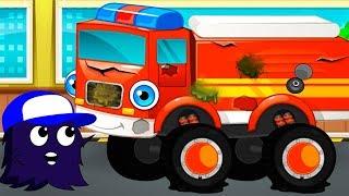 Мультик Про Машинки для Детей❗❗❗Эмейзик и Пожарная Машина в Автомастерской. Мультфильм Детям 3+