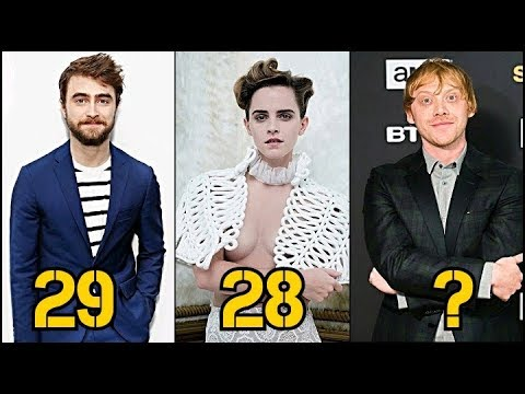 Harry Potter From Oldest to Youngest