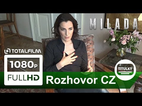 Milada (2017) Ayelet Zurer o své roli