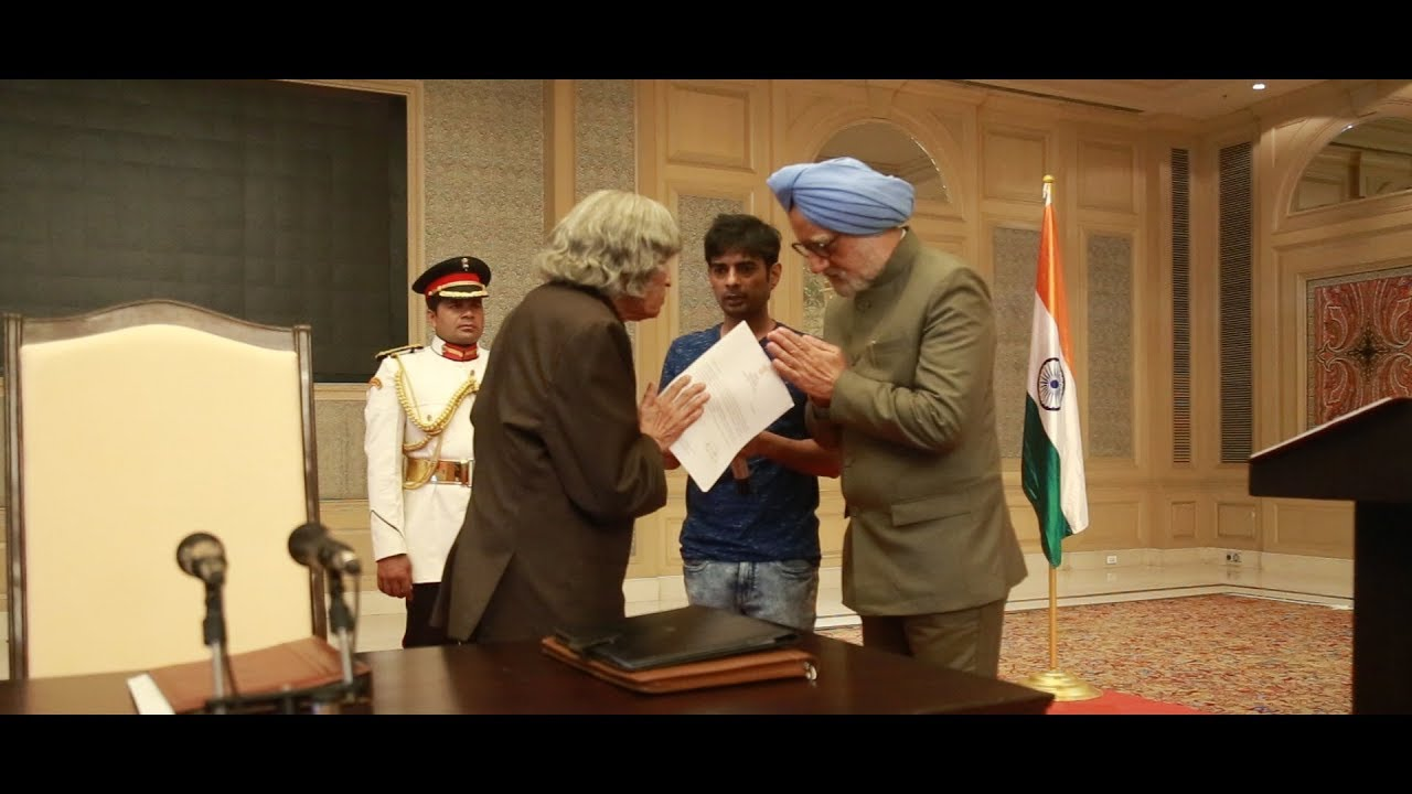 The Accidental Prime Minister Oath Taking Ceremony | Anupam Kher, Akshaye Khanna | Behind The Scenes