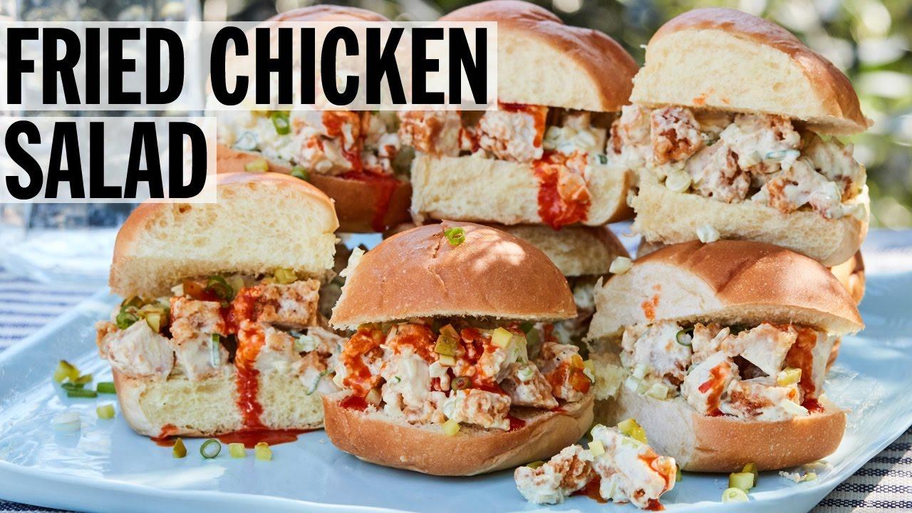 Food Network Fried Chicken Salad Recipe