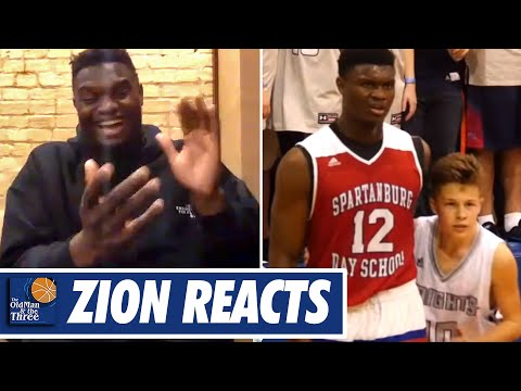 Zion Williamson Breaks Down The Viral Video of Him Being Guarded by The 5'6 Kid   w/ JJ Redick