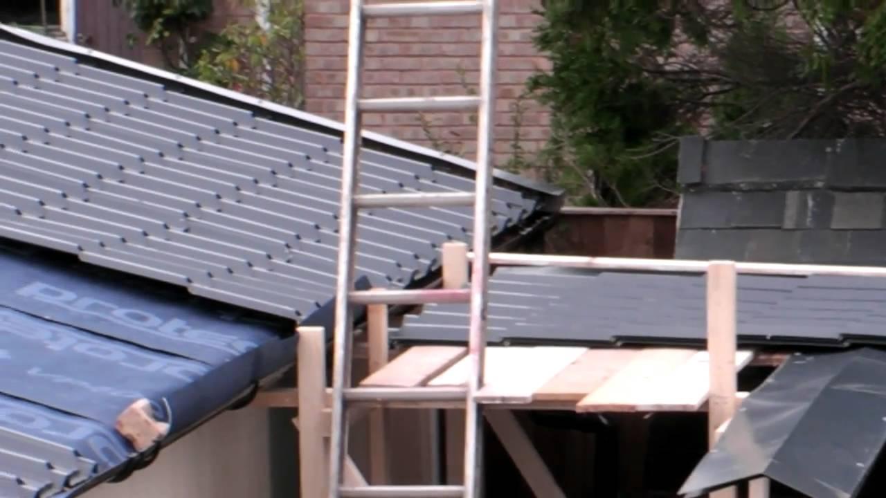 Garage roof condensation problem - YouTube