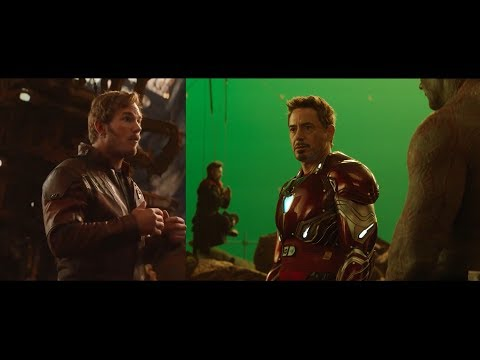 Avengers: Infinity War | Previsualization vs Trailer