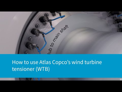 Atlas Copco Wind Turbine Tensioners