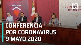 Conferencia de Prensa sobre Coronavirus en México - 9 de mayo de 2020
