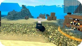 Baby Aenh is a treasure-hunting pirate - Roblox teasure hunt simulator