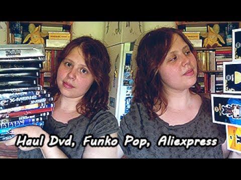 HAUL! Dvd, Funko Pop, Aliexpress