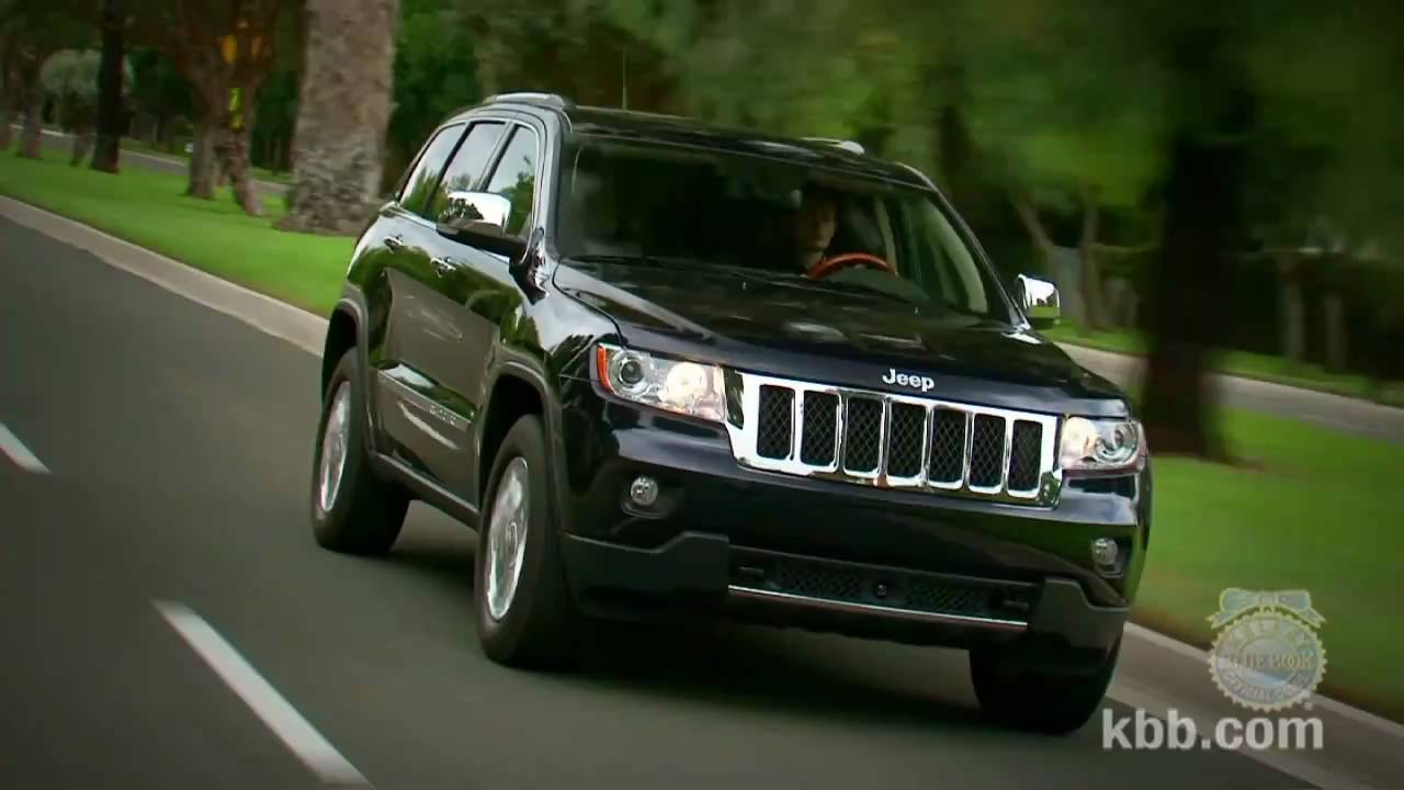2011 Jeep Grand Cherokee Review - Kelley Blue Book - YouTube