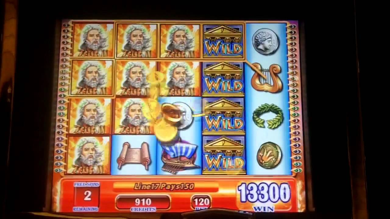 Free Zeus 2 Slot Machine Online