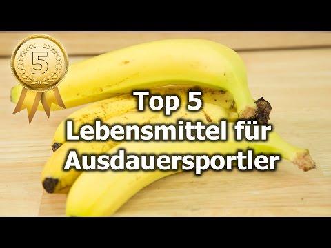 Ernhrung fr Ausdauersportler: Die Top 5 Lebensmittel von Prof. Ingo Frobse