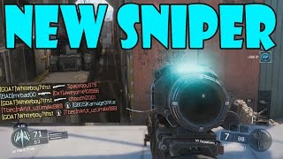 NEW SNIPER IN BLACK OPS 3 (Call of Duty Black Ops 3 MX Garand Sniper Gameplay)